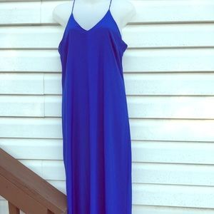 Maxi slim fit XS, Old Navy dress in royal blue